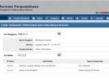Source code sistem informasi perpustakaan berbasis web