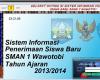 Download Aplikasi Penerimaan Siswa Baru Menggunakan VB