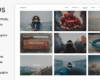 Download Template Wordpress - Tempus - Tema Photography
