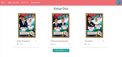 Source Code Aplikasi Voting Pemilihan Ketua Osis Berbasis Web Source Code Aplikasi