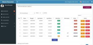 app absensi qr qode 3 300x146 - Source Code Aplikasi Absensi Karyawan Online Menggunakan QR Code
