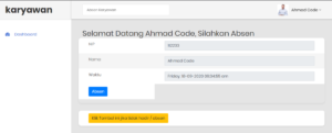 app absensi karyawan berbasis web 2 300x121 - Source Code Aplikasi Absensi Karyawan Berbasis Web