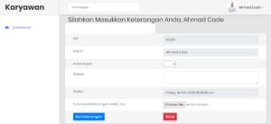 app absensi karyawan berbasis web 3 300x138 - Source Code Aplikasi Absensi Karyawan Berbasis Web