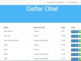 Source Code Aplikasi Penjualan Obat Apotek Berbasis Web
