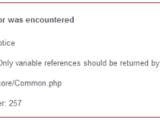 Cara Mengatasi Error core/common.php Pada Codeigniter