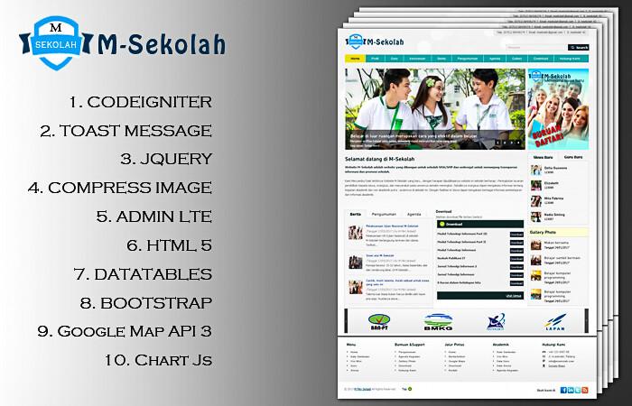 m sekolah - Download 12 Source Code Website Sekolah Siap Pakai - FREE