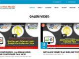Download 11 Source Code Website Company Profile Siap Pakai - FREE