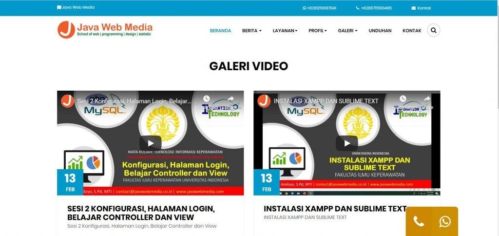 web company profile gratis2 - Download 11 Source Code Website Company Profile Siap Pakai - FREE