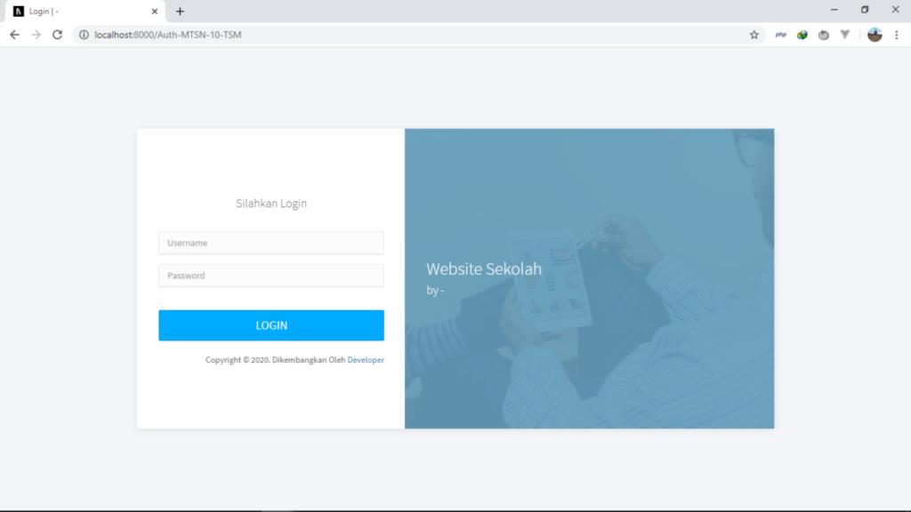 web sekolah 1024x576 - Download 12 Source Code Website Sekolah Siap Pakai - FREE