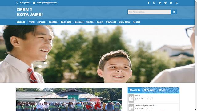 web smkn 1 kota jambi - Download 12 Source Code Website Sekolah Siap Pakai - FREE