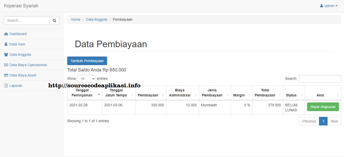aplikasi koperasi syariah berbasis web 2 - Source Code Aplikasi Koperasi Syariah Berbasis Web