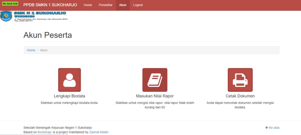aplikasi ppdb sederhana 2 - Source Code Aplikasi PPDB Online Sederhana Berbasis Php