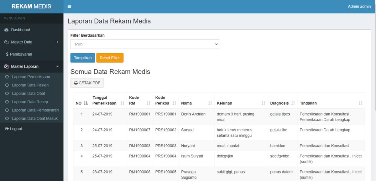 aplikasi rekam medis 2 - Source Code Aplikasi Rekam Medis Berbasis Web