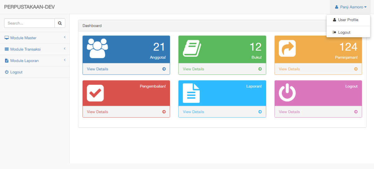 app perpus berbasis ci 2 - Source Code Aplikasi Manajemen Perpustakaan Berbasis Web